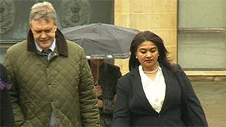 Leigh e Anita Turner (Foto: BBC)