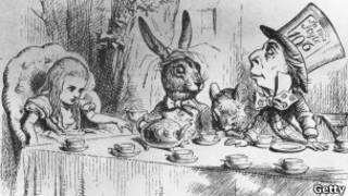 "илююстрация к книге ""Алиса в стране чудес"""