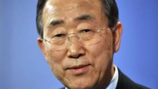 """بان غي مون """"ينبغي تقليص البعثة الدولية في سوريا"""""""