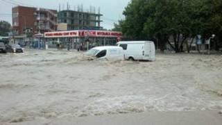 Banjir di Rusia