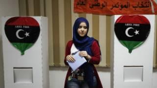 لیبیا میں ووٹ