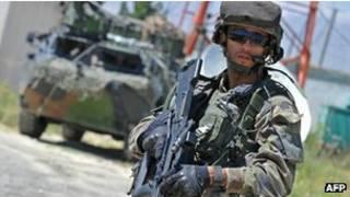 امریکايي پوځي افغانستان کې