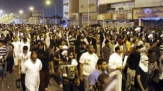 سعودي کې مظاهره کوونکي