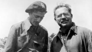 海明威在西班牙内战期间当战地记者