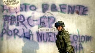 Soldado colombiano | Foto: AFP