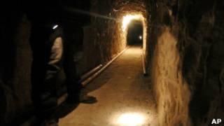 Túnel en la frontera de México y EE.UU. (Imagen de archivo)