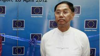 Rangoon Division Chief Minister U Myint Swe