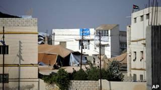 مقر سكن لاجئين سوريين في الأردن
