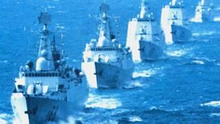 Một hạm đội của Hải quân Trung Quốc