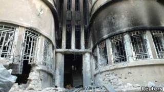 Сирийский Хомс после обстрелов