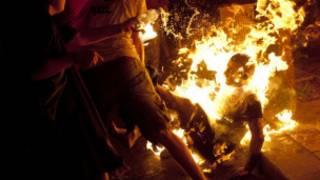 اسرائيلي اضرم النار في نفسه الجمعة 14 يموز