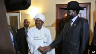 Sudan presidents talks