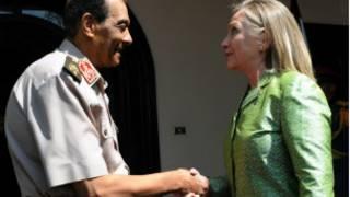Hillary Clinton da Hussein Tantawi