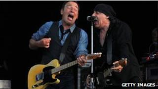 Springsteen e Van Zandt