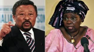 Ms Zuma iyo Jean Ping