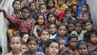 Crianças em Bangladesh | Foto: BBC