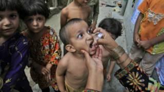 पाकिस्तान में पोलियो
