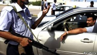 پلیس لیبی