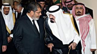 مرسي وعبد الله