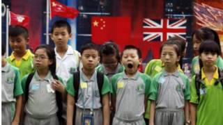 香港推動國民教育引起的爭議至今仍未停息
