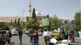 Suriye'de gazeteciler zor şartlarda görev yapıyor
