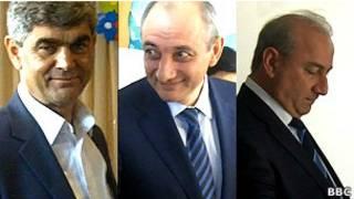 Кандидаты в президенты НКР
