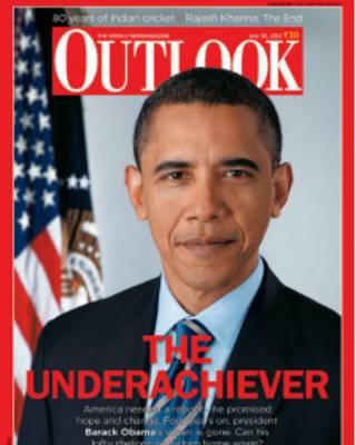 باراک اوبامہ آؤٹ لک میگزین کے کوور پر