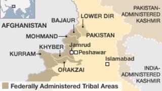 Bản đồ Pakistan nơi xảy ra vụ nổ
