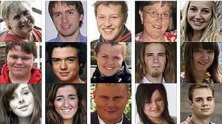 Các nạn nhân của cuộc tấn công ngày 22/7/2011