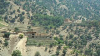 منطقه مرزی کنر در شرق افغانستان