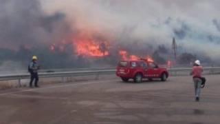 حرائق في إسبانيا