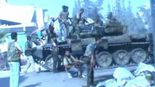 tankokin yakin Syria
