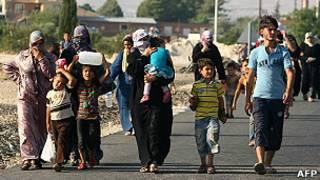 Crisis humanitaria en Siria