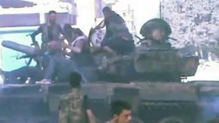 Mayakan Syria a tankokin yaki