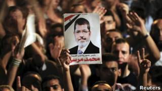 Сторонники президента Египта Мохаммеда Мурси