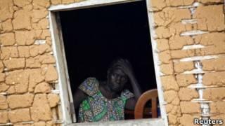 امرأة نيجيرية