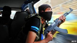 Rebelde sírio | Crédito da foto: AFP