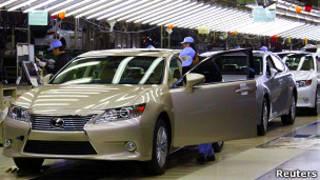 Автомобильный завод в Японии