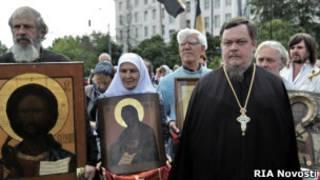 Митинг православной общественности в Москве 22 июля 2012 года