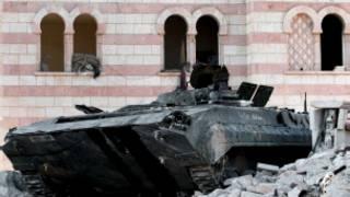 Wata tankar yakin sojojin Syria