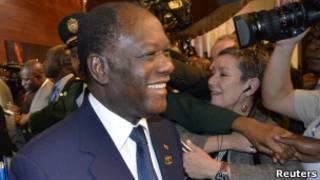 رئيس ساحل العاج