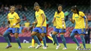 Seleção brasileira de futebol feminino (Foto: Reuters)