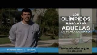 Campanha com participação de atletas olímpicos argentinos