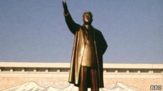 Статуя Ким Чен Ира
