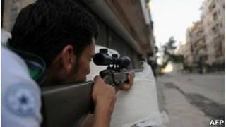 Rebeldes em Aleppo estão recebendo suprimentos vindos da Turquia (AFP)