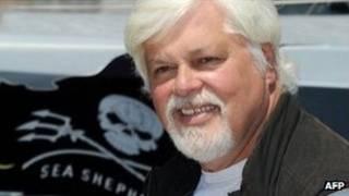 Paul Watson é fundador da organização ativista Sea Shepherd, que já se envolveu em açõe polêmicas (AFP)