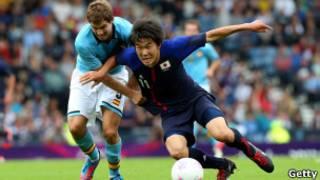 مباراة اليابان واسبانيا