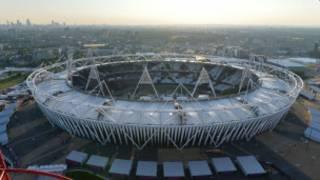 الاستاد الاولمبي في لندن