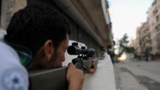 အလက်ပိုမြို့မှ အတိုက်အခံတွေ အစိုးရကိုပြန်ခုခံနေစဉ်