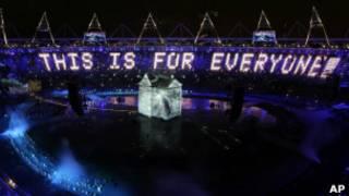 伦敦奥运开幕式表演